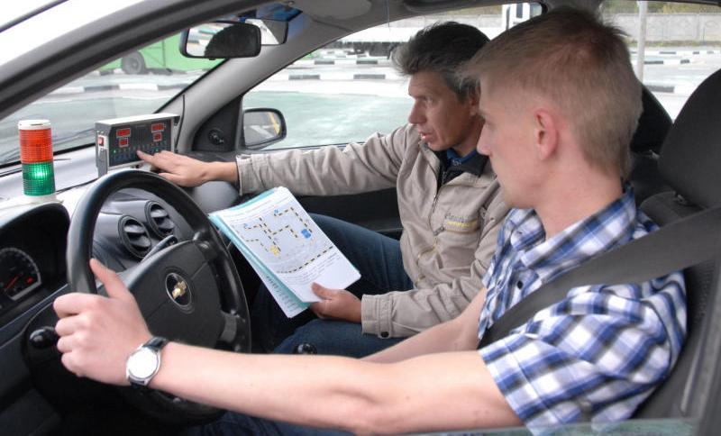 Автоинструктор -особенности работы