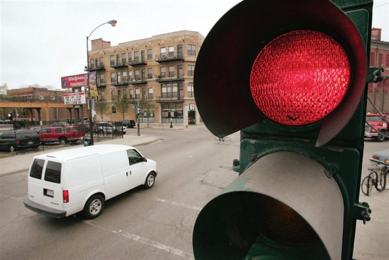 Размер штрафа за проед на красный свет