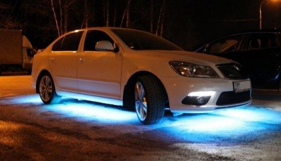 Отшрафуют ли за подсветку днища автомобиля