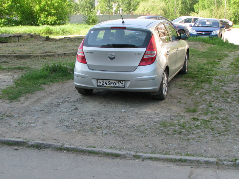 Какой штраф за парковку в зеленой зоне