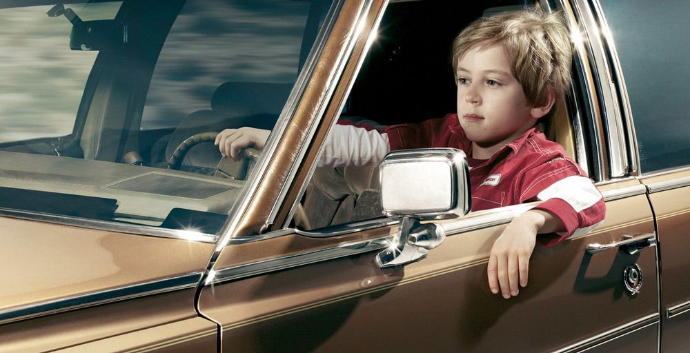 Несовершеннолетний за рулем