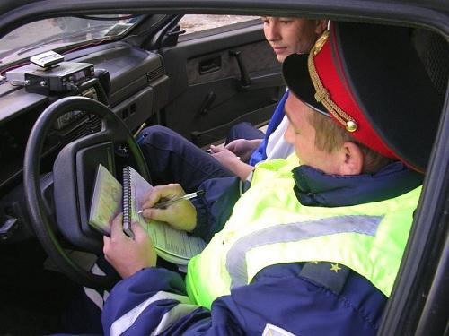 Протокол о нарушении инспектор заполняет на месте.