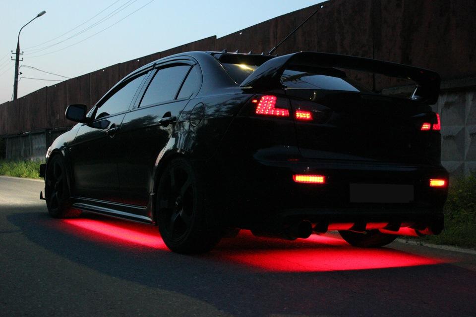 Каков штраф за подсветку автомобиля