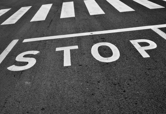 Стоп линия  в правилах дорожного движения