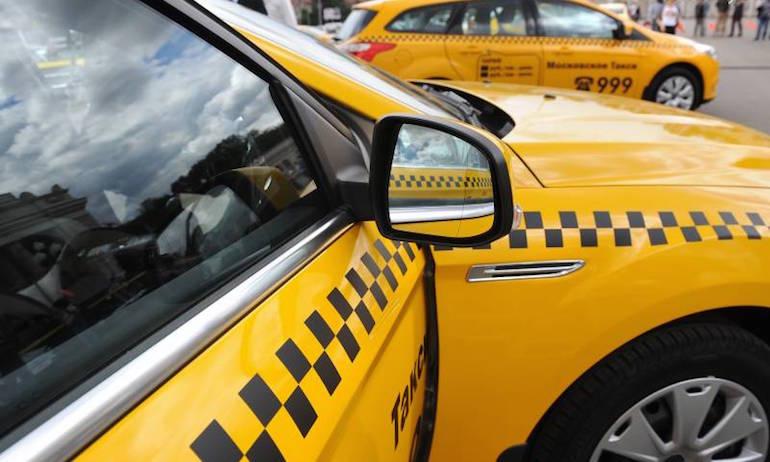 что является опознавательным знаком такси