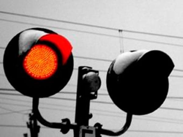 Штраф за проезд на красный на переезде